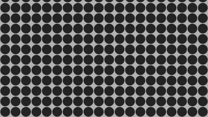 Dark Grey Seamless Circle Background Pattern Graphic
