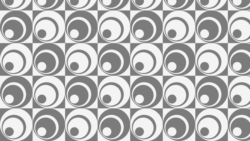 Grey Seamless Geometric Circle Pattern Background Design