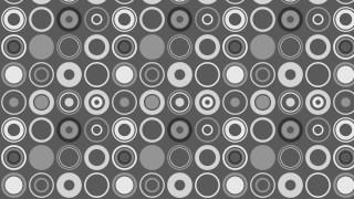 Dark Grey Geometric Circle Pattern