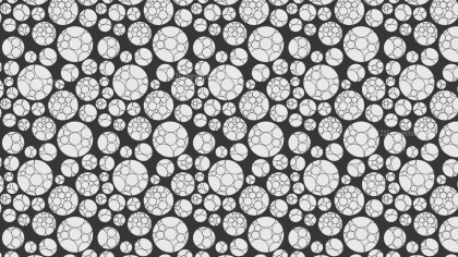 Grey Geometric Circle Pattern Background Graphic