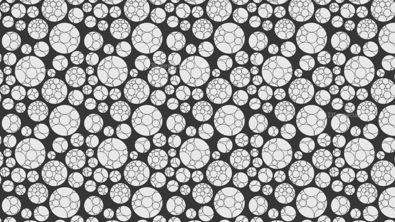 Grey Geometric Circle Pattern Background Graphic