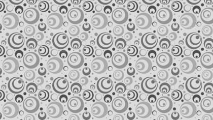 Grey Circle Pattern