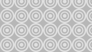 Light Grey Seamless Concentric Circles Pattern Illustration