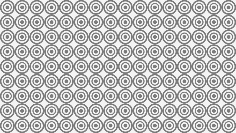 Grey Seamless Concentric Circles Background Pattern Image