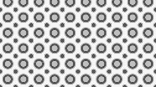Grey Seamless Circle Pattern