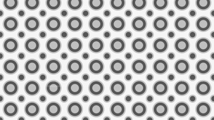Grey Seamless Circle Pattern