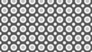 Grey Seamless Circle Pattern Background