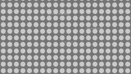 Grey Seamless Geometric Circle Pattern Background