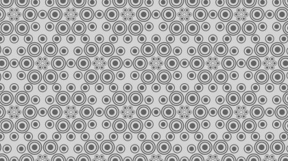 Grey Circle Background Pattern Design