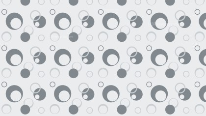Grey Seamless Geometric Circle Background Pattern Illustration
