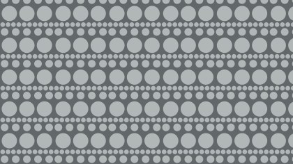 Grey Circle Pattern Background