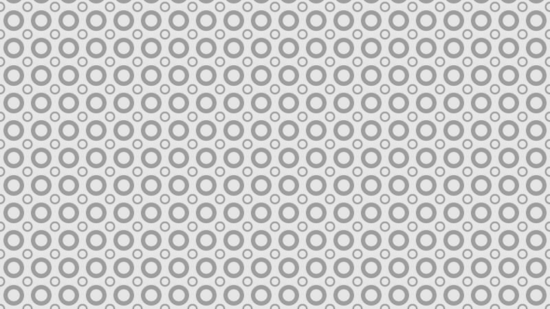 Light Grey Geometric Circle Background Pattern