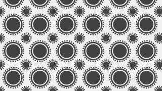 Grey Circle Pattern Vector Graphic