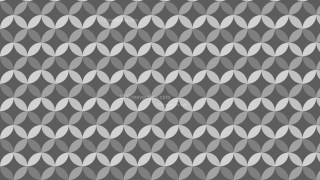 Dark Grey Overlapping Circles Background Pattern Graphic