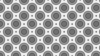 Grey Concentric Circles Pattern Background Illustration