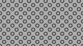 Grey Seamless Geometric Circle Pattern Image