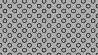 Grey Seamless Geometric Circle Pattern Image
