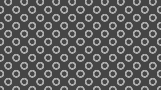 Dark Grey Seamless Geometric Circle Pattern Background Vector Graphic