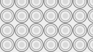 Light Grey Seamless Geometric Circle Background Pattern Vector Image