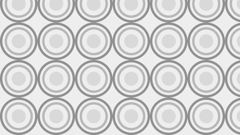 Light Grey Seamless Geometric Circle Background Pattern Vector Image