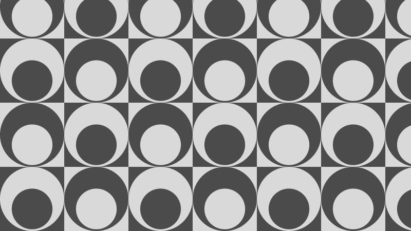Grey Circle Pattern Background