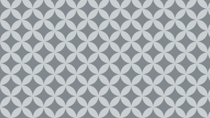 Grey Overlapping Circles Pattern Graphic