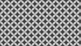 Grey Overlapping Circles Pattern Background Illustration