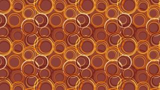 Dark Orange Geometric Circle Background Pattern