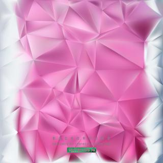 Pink Polygon Pattern Background