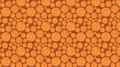 Orange Circle Pattern