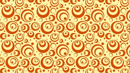 Orange Circle Background Pattern