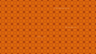 Orange Seamless Concentric Circles Background Pattern Vector Image