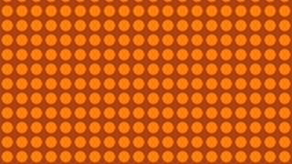 Orange Circle Pattern Design