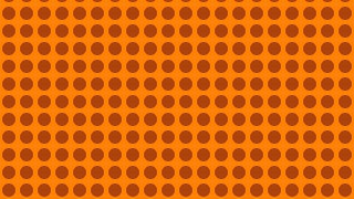 Orange Circle Pattern Background Image