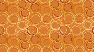 Orange Circle Pattern Background
