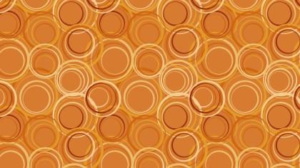 Orange Circle Pattern Background