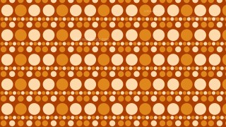 Orange Geometric Circle Pattern