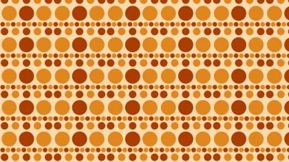 Orange Geometric Circle Background Pattern