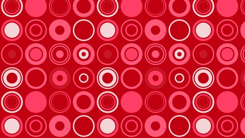 Folly Pink Circle Pattern Illustrator