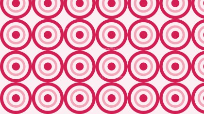 Pink Concentric Circles Background Pattern
