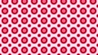 Pink Circle Pattern Graphic