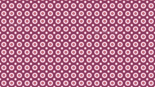 Pink Circle Background Pattern Design