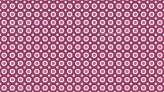Pink Circle Background Pattern Design