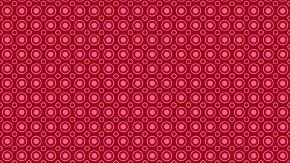 Pink Geometric Circle Pattern Image