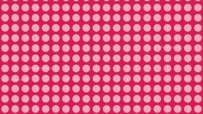 Pink Geometric Circle Background Pattern Vector Image