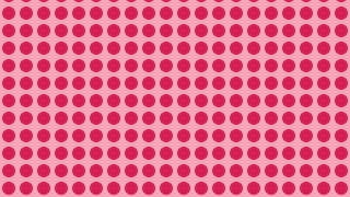 Pink Seamless Circle Pattern Illustrator