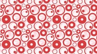 Pink Circle Pattern Background