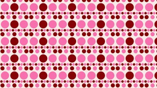 Pink Circle Pattern Vector Graphic