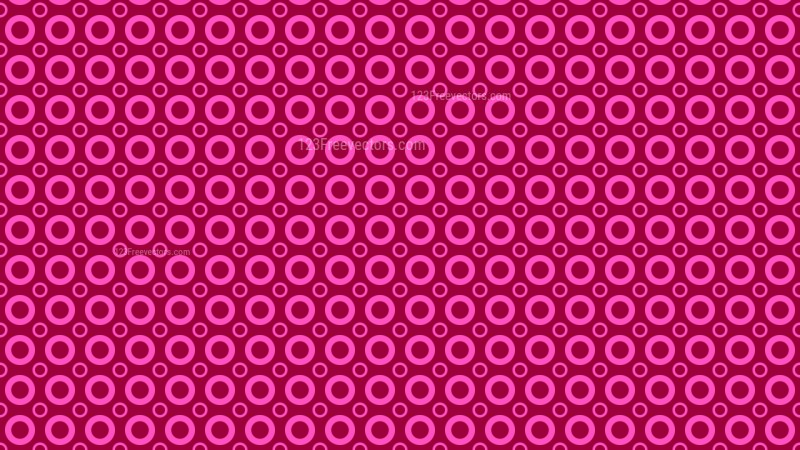 Pink Circle Pattern Background Vector Image
