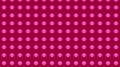 Pink Geometric Circle Pattern Vector Illustration